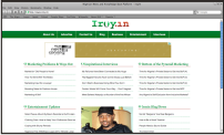 When <strong>Iroyin</strong>, a Nigerian News and Knowledge Base Platform that provides engaging and informative contents needed brand design and a website, we were consulted and we developed a unique website for them. We provided <strong>Logo Design, Web Design, SEO &amp; Web Marketing </strong>for Iroyin.